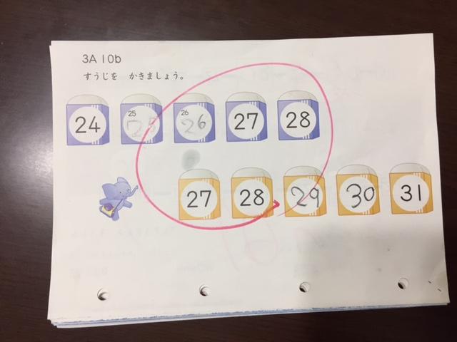公文の算数の教材