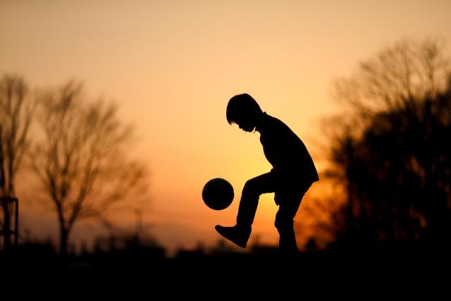 サッカー リフティング